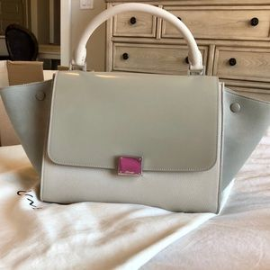 Celine Bags - Céline small multicolor trapeze bag